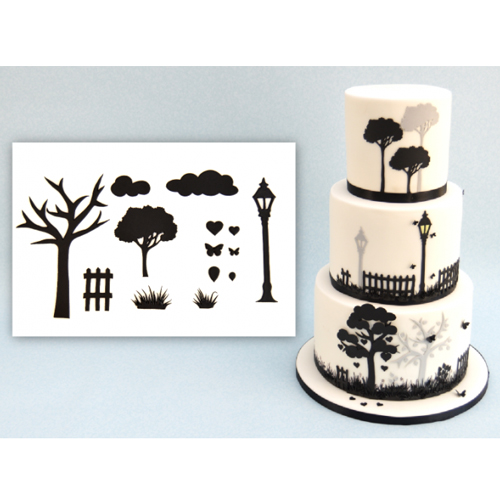 Foto: Patchwork Cutter Countryside Silhouette set