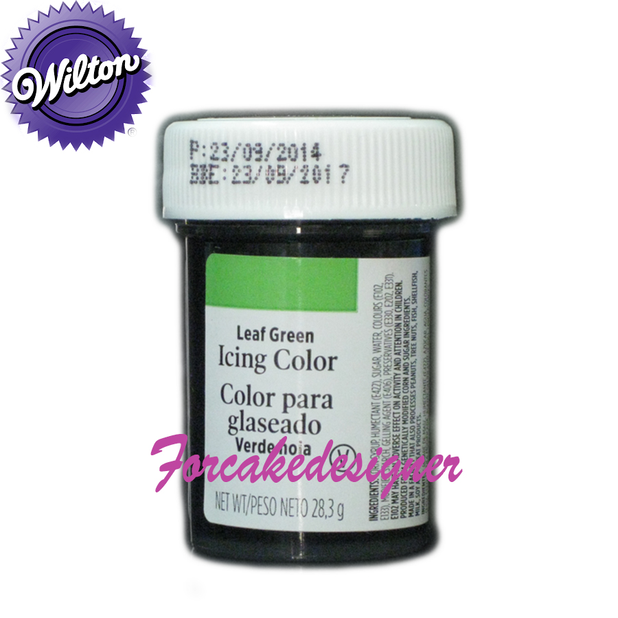 Foto: WILTON Colorante in Gel Verde foglia 28GR