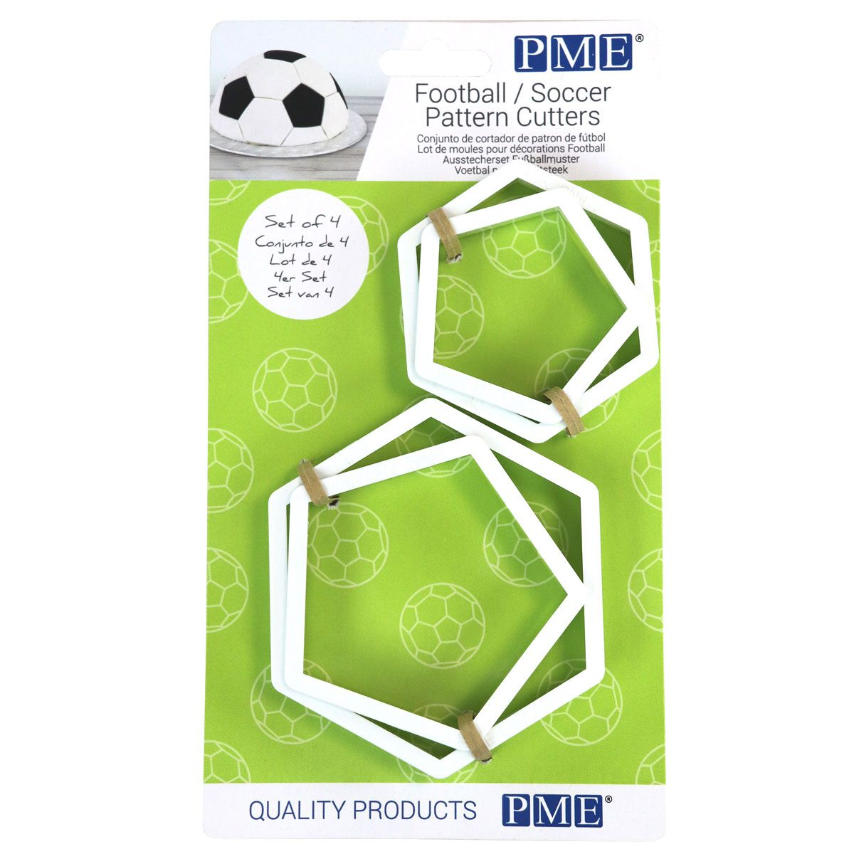 Foto: PME Football/Soccer Pattern Cutters Set/4
