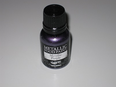Foto: Colorante Rainbow Dust  Vernice metalizzata viola 25 ml