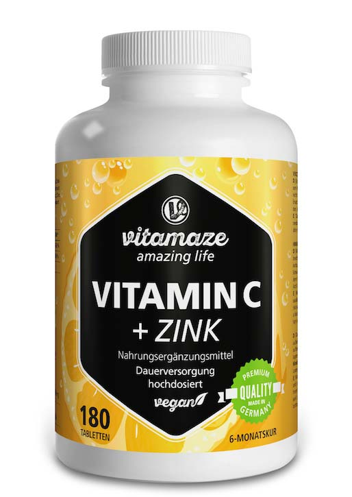 Foto: Vitamina C high strength + zinc